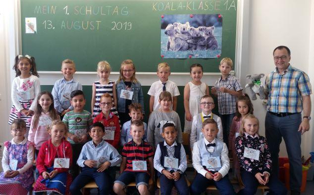 2019 Klasse 1a