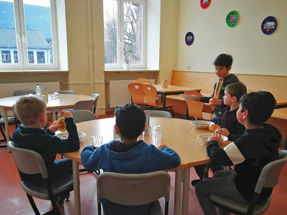 Mittagsangebot Kinder